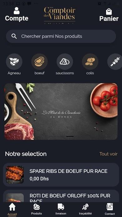 flutter application mobile maroc